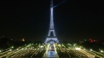 Thousands Of New Bulbs Illuminate Eiffel Tower